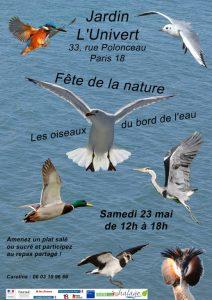 fete de la nature oiseaux