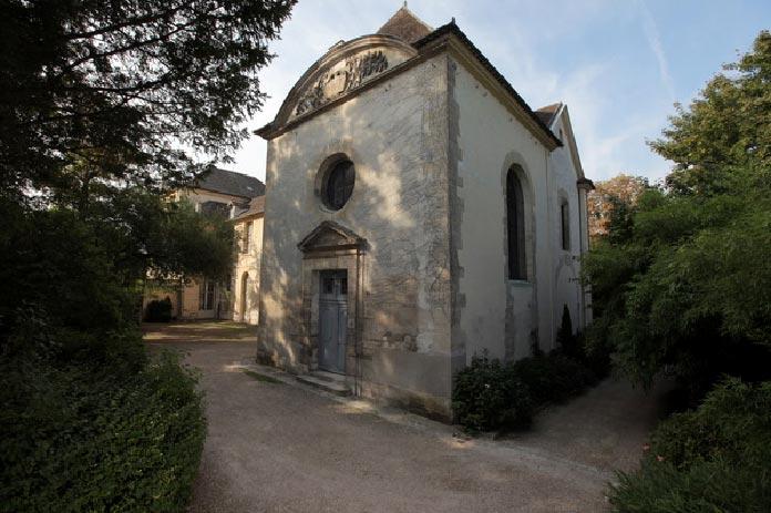 musée départemental Maurice Denis, à Saint-Germain-en-Laye vue_chapelle_ext