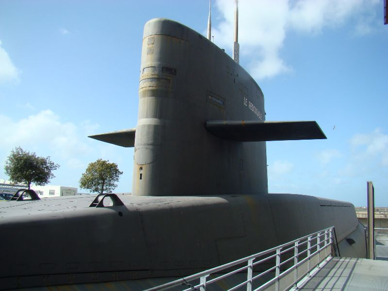 Le Redoutable Cité de la Mer Cherbourg - DR Melle Bon Plan