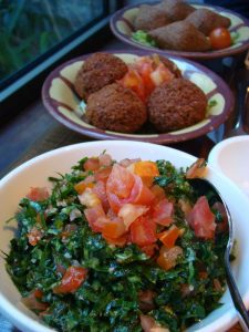 Tabboulé et Falafel Noura Montparnasse - DR Melle Bon Plan
