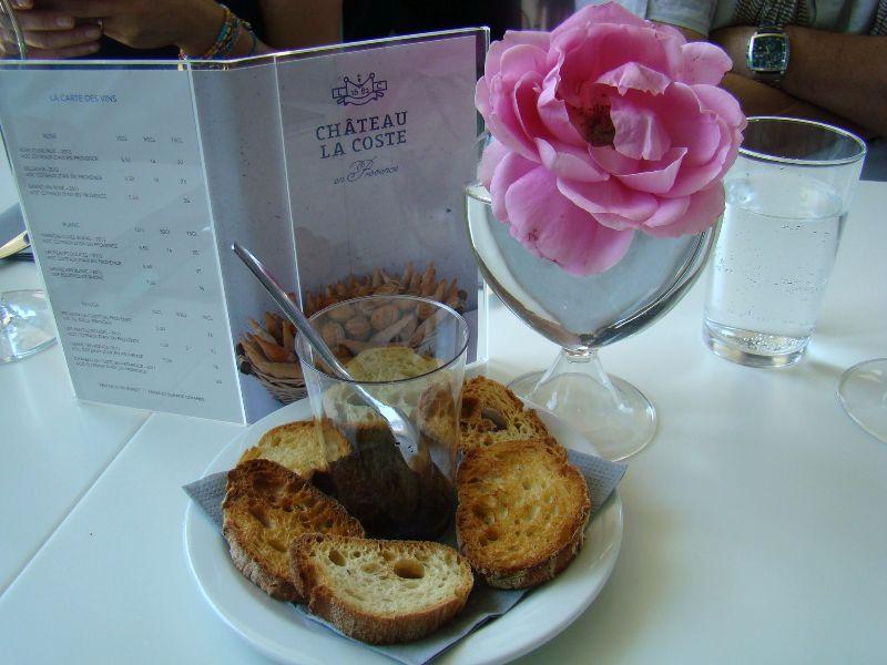 Déjeuner Château La Coste Provence - DR Melle Bon Plan