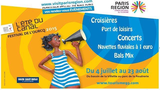 Canal de l'Ourcq 2015
