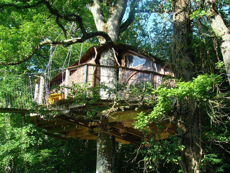 Maison dans les arbres Défi Planet - DR Melle Bon Plan