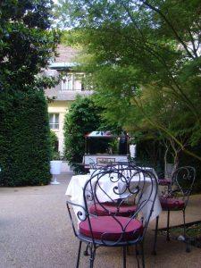 terrasse Restaurant Le Relais du Parc - DR Melle Bon Plan