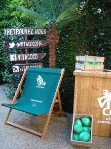Vita Coco terrasse Restaurant Le Relais du Parc - DR Melle Bon Plan