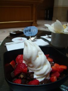 frozen Yogurt Prelys Marriott Champs Elysees - DR Melle Bon Plan