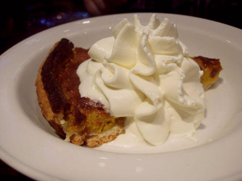 tarte à la citrouille Thanksgiving au Hard Rock Café - DR Melle Bon Plan