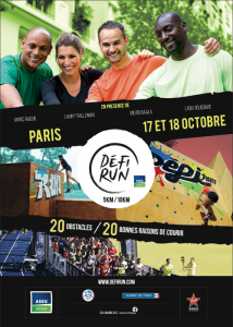 Affiche Défi Run Paris