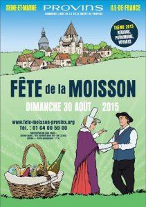 Affiche Fete de la Moisson 2015 Provins