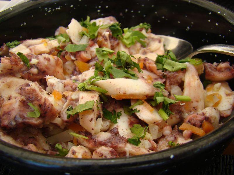Octopus salad Le Ministerium Lisbonne - DR Melle Bon Plan