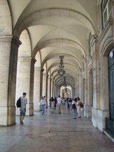 Place du Commerce Lisbonne - DR Melle Bon Plan
