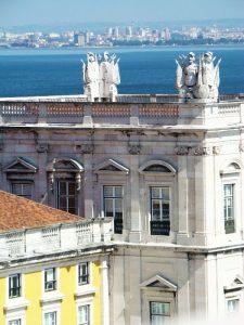 vue de l'Arc de la Rua Augusta Lisbonne - DR Melle Bon Plan