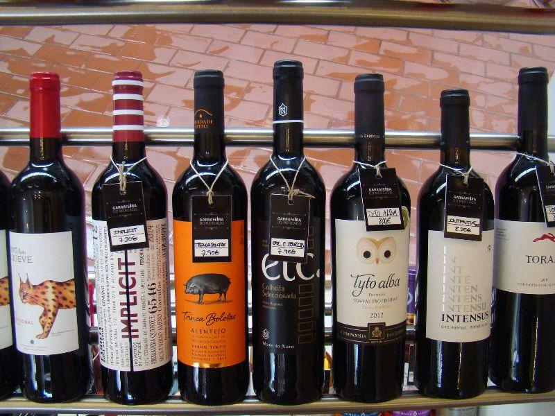 Vins Mercado de Campo de Ourique Lisbonne - DR Melle Bon Plan