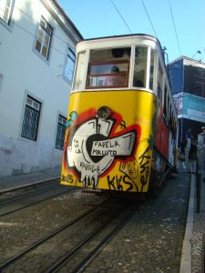 Tramway Lisbonne - DR Melle Bon Plan