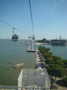 Telecabine parc des Nations Lisbonne - DR Melle Bon Plan