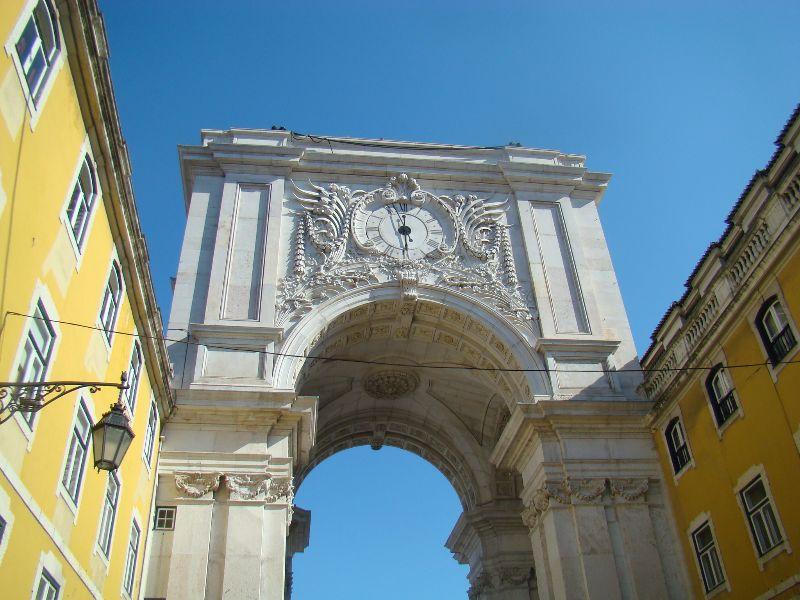 Arc de la Rua Augusta Lisbonne - DR Melle Bon Plan