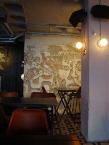Vhils restaurant Honorato Lisbonne street art - DR Melle Bon Plan