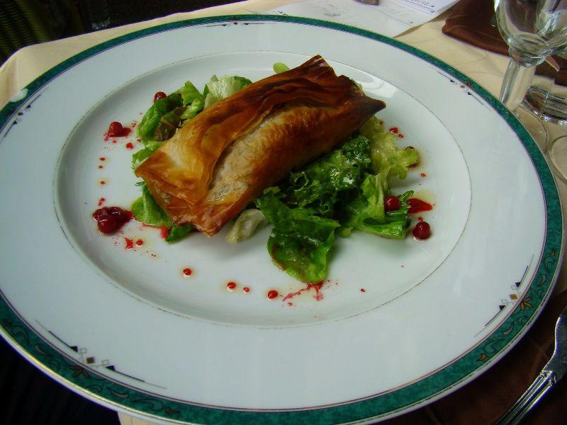 Croustillant de porc restaurant Lac Pavin Sancy Massif du Sancy - DR Melle Bon Plan