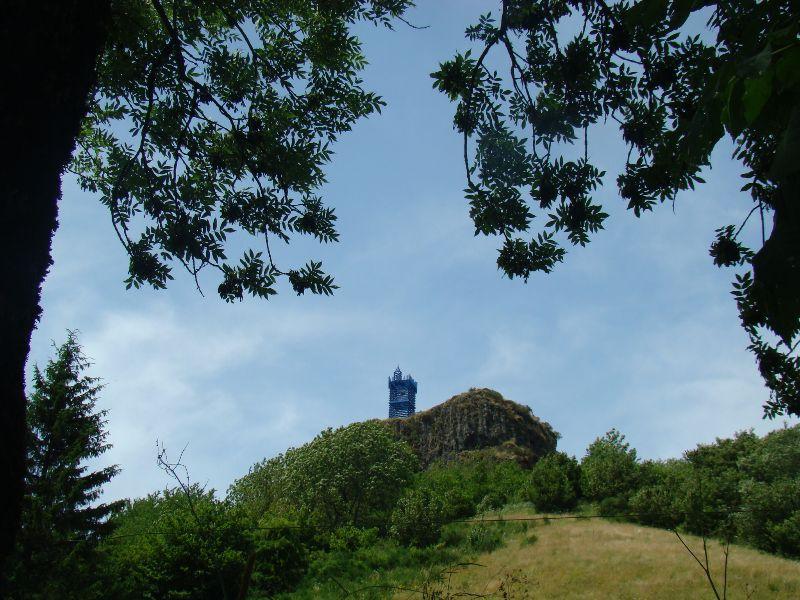 J'ai rêvé d'un Château Festival Horizons Art Nature en Sancy Massif du Sancy - DR Melle Bon Plan