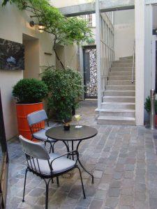 Terrasse été hôtel Jules et Jim - DR Melle Bon Plan