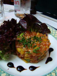 Tartare de saumon Lily de Neuilly - Dr Melle Bon Plan