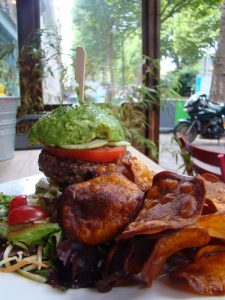 Avocat Burger Captain B - DR Melle Bon Plan