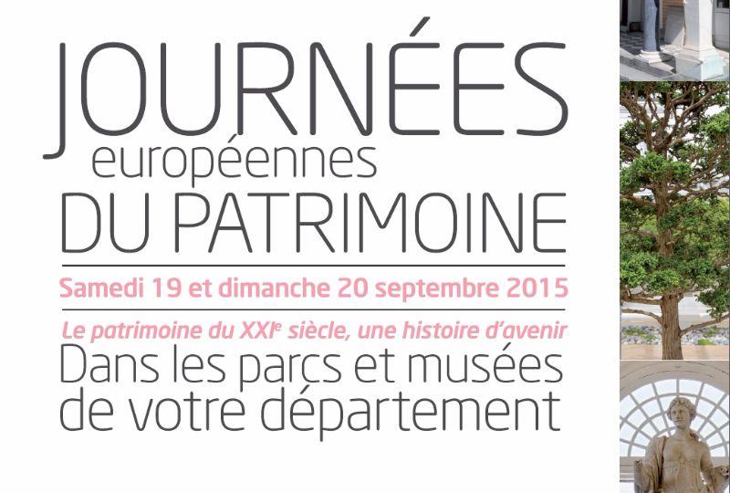Journées du Patrimoine 2015 Hauts de Seine