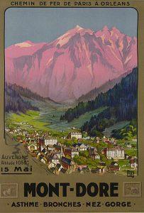 Thermes Mont-Dore affiche