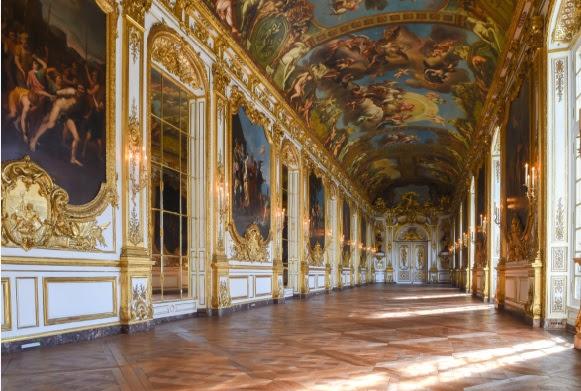 Galerie Dorée - Crédit Photos : Banque de France Pascal Assailly et Jean Derennes