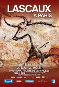 Lascaux à Paris affiche expo