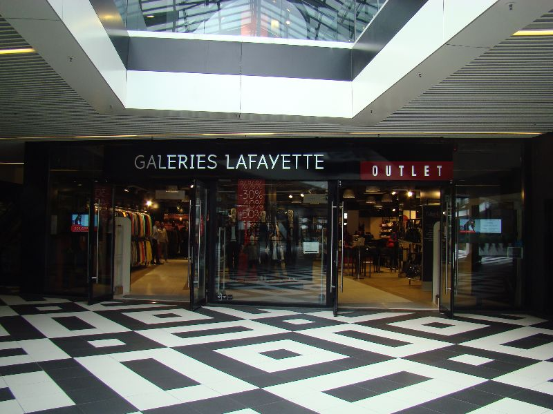 outlet Galeries Lafayette One Nation Paris - DR Melle Bon Plan