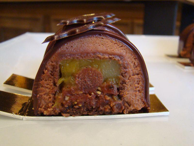 buche de noël Maison du Chocolat - DR melle Bon Plan