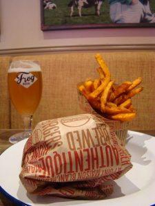 Ruck Burger FrogBurger - DR Melle Bon Plan 2015
