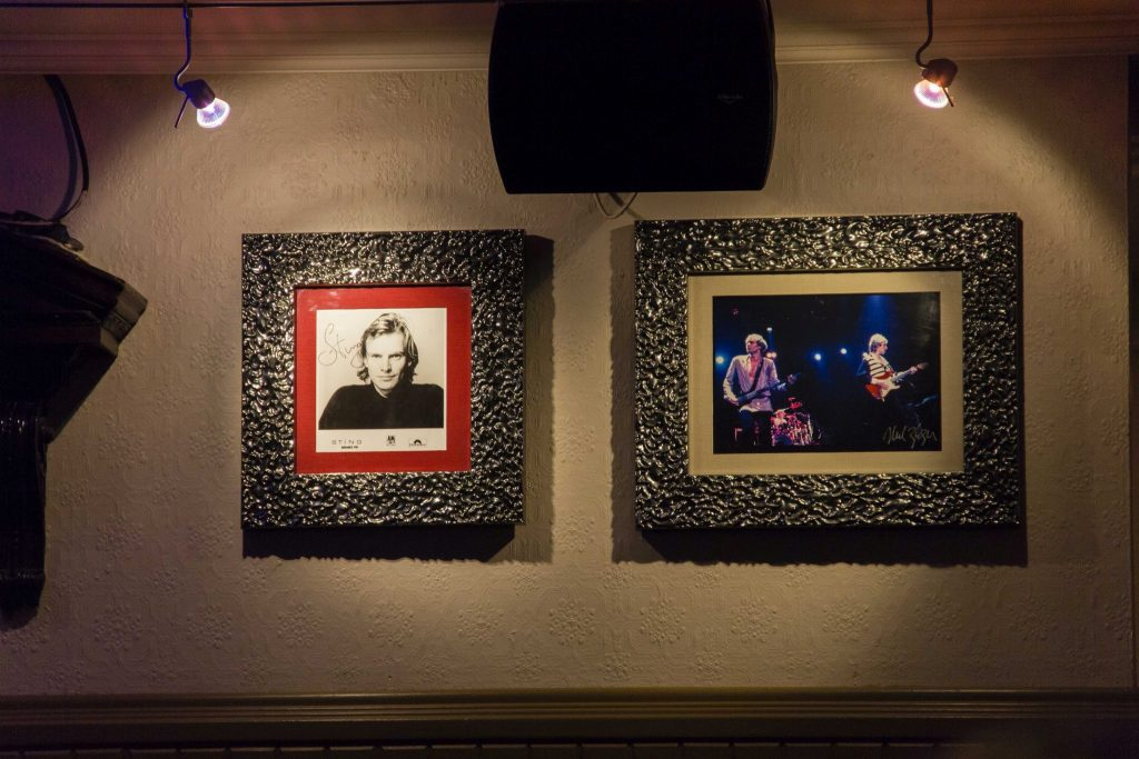 Sting Hard Rock Café Paris - DR Nicolas Diolez