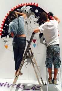 Musée de l'histoire de l'immigration: après 12 heures de street art