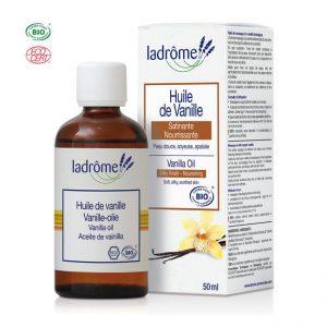 huile de vanille bio Ladrome