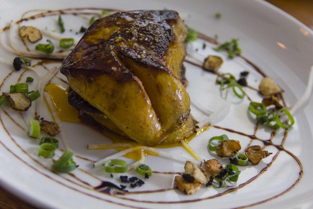 Escalope de foie gras poêlée Bistrot Blanc Bec - DR Nicolas Diolez