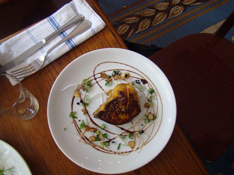 Escalope de foie gras poêlée Bistrot Blanc Bec - DR Melle Bon Plan