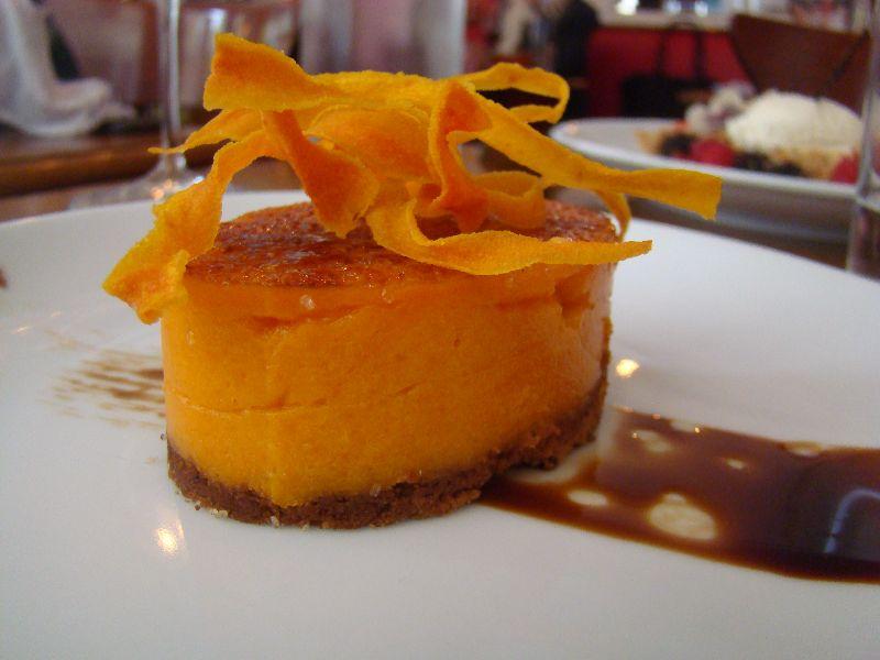 Mousse aux carottes et mascarpone Bistrot Blanc Bec - DR Melle Bon Plan