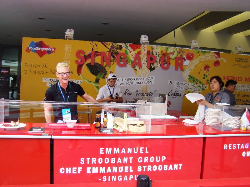 Street food Singapour San Sebastian Gastronomika 2015 - DR Melle Bon Plan