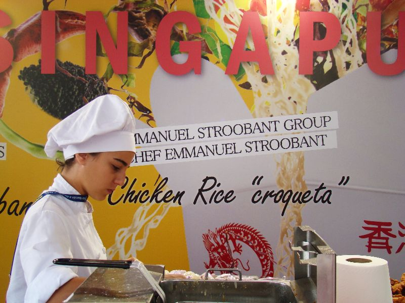 Singapour San Sebastian Gastronomika 2015 - DR Melle Bon Plan