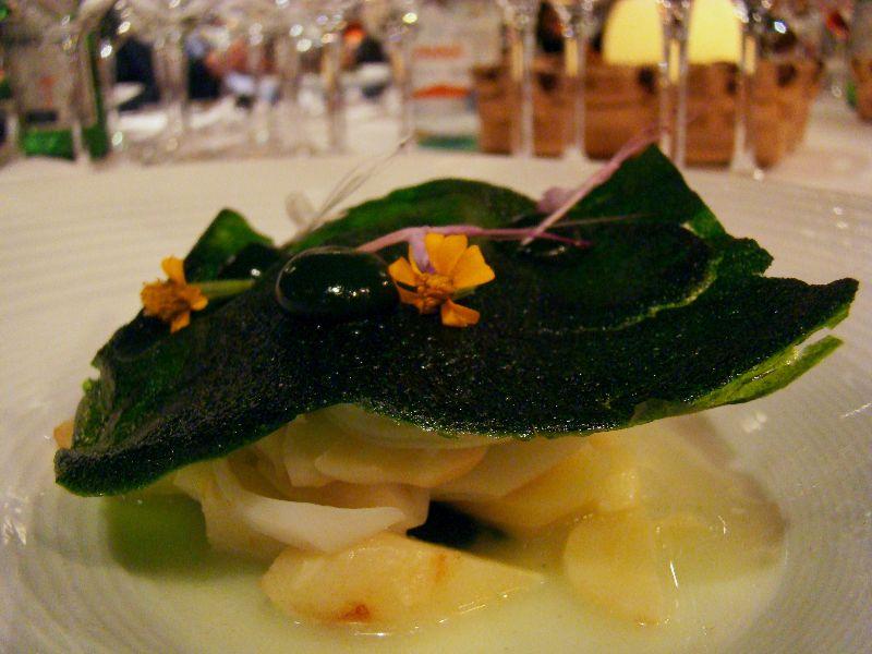 palourdes à l'ail et au persi cuisine Singapour San Sebastian Gastronomika 2015 - DR Melle Bon Plan