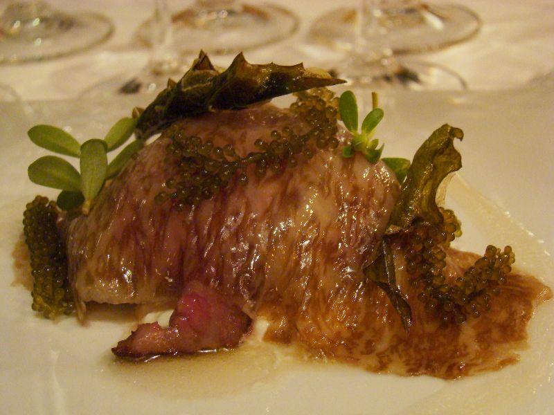 Veau Toriyama cuisine Singapour San Sebastian Gastronomika 2015 - DR Melle Bon Plan
