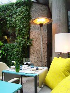 patio déjeuner Hôtel de Sers - DR Melle Bon Plan