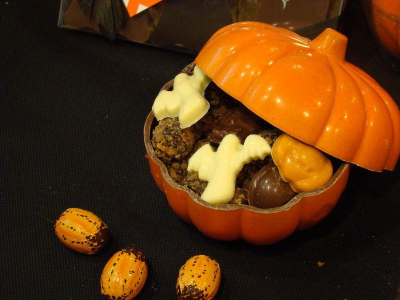 Halloween Atelier du Chocolat citrouille - DR Melle Bon Plan