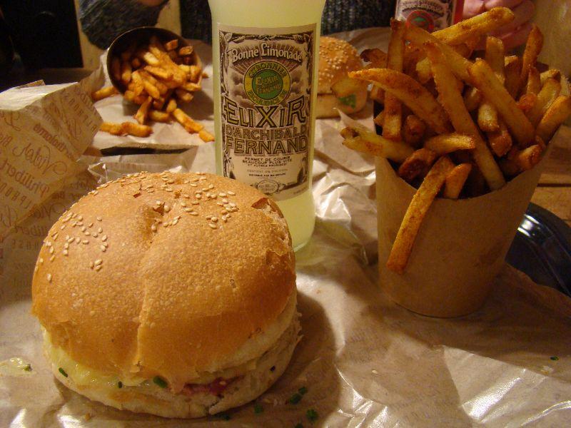 burger Belphégor Big Fernand Halloween 2015 - DR Melle Bon Plan