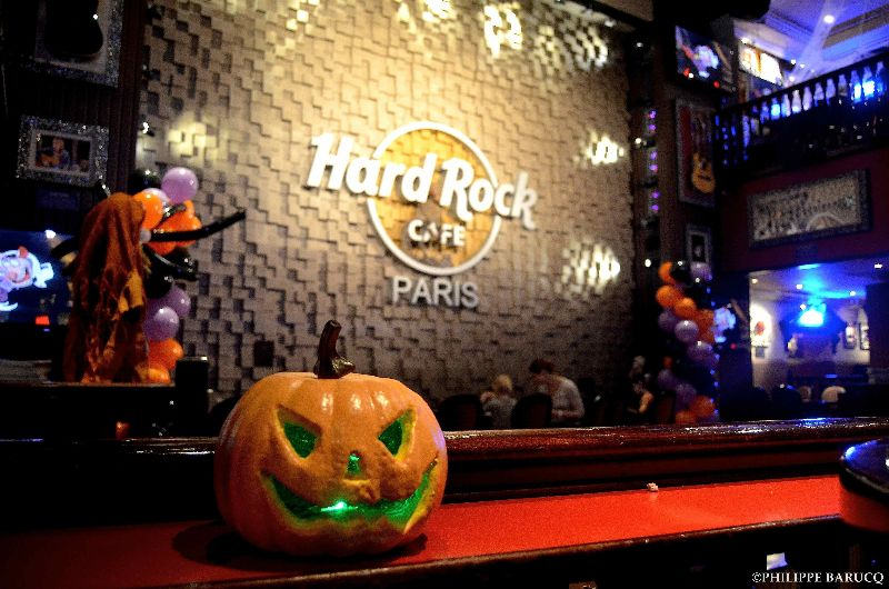 Hard Rock Cafe Paris - Halloween