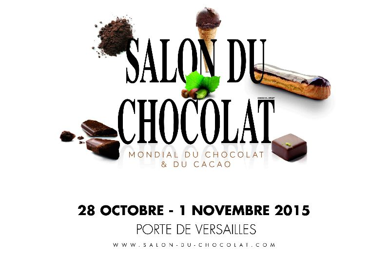 affiche salon du chocolat 2015