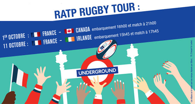 RATP Rugby Tour