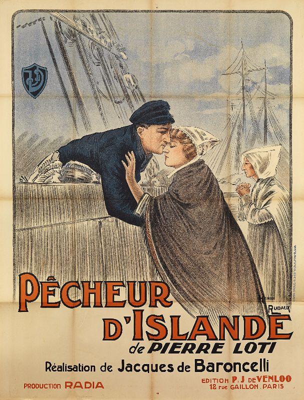 Affiche du film Pêcheur d'Islande © Musée national de la Marine/A. Fux/Caroline de Baroncelli